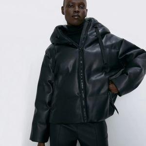 pu leather bomber jacket